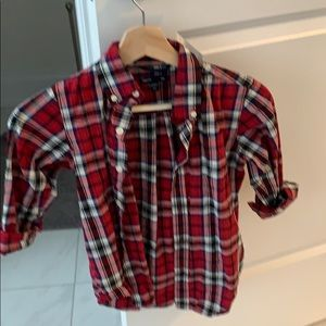 2/$24 | Gap | boys plaid  shirt